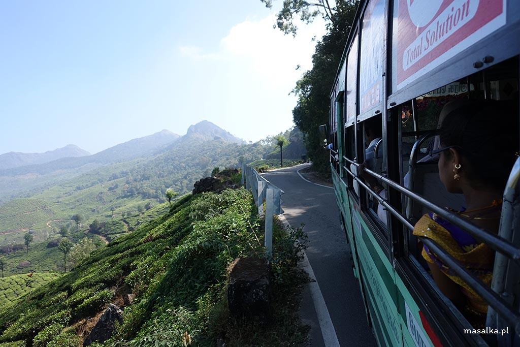 W drodze do Kodaikanal