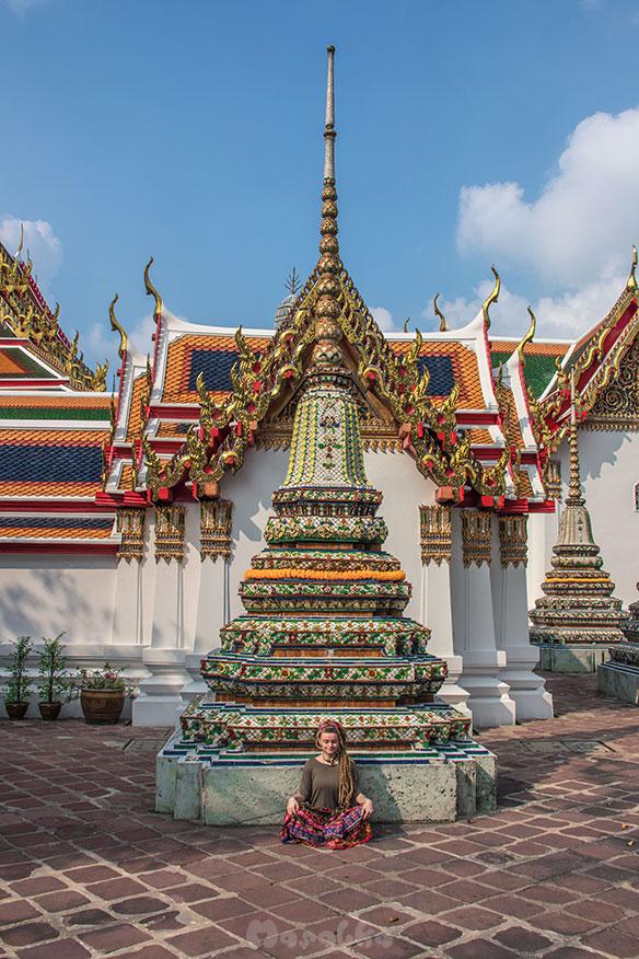 Kompleks świątynny Wat Pho w Bangkoku- zdjęcie 1