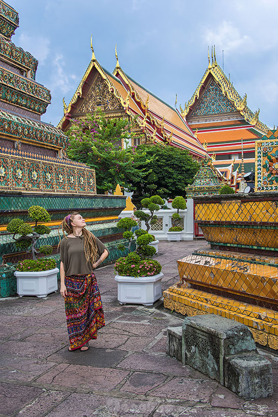 Kompleks świątynny Wat Pho w Bangkoku- zdjęcie 10
