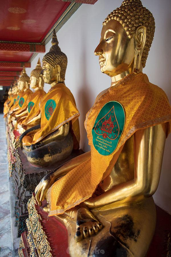 Kompleks świątynny Wat Pho w Bangkoku- zdjęcie 18