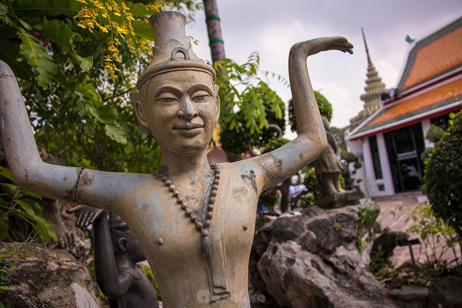 Kompleks świątynny Wat Pho w Bangkoku- zdjęcie 2