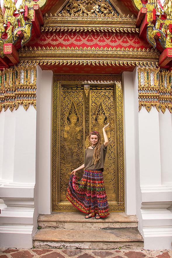 Kompleks świątynny Wat Pho w Bangkoku- zdjęcie 4