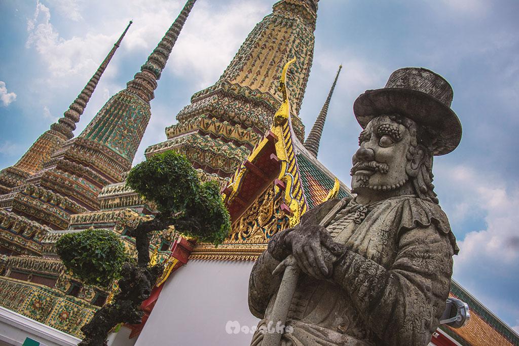 bangkok budżetowo wat pho