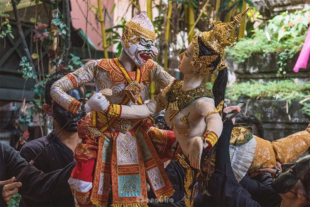 bangkok artist's house tradycyjna sztuka