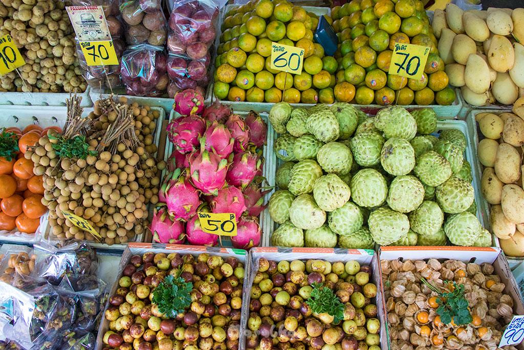 bangkok owocowy market
