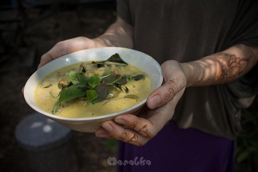 tajskie zielone curry