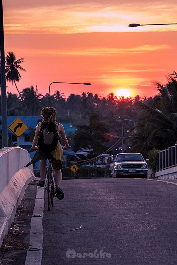 rowerem na wolontariacie w tajlandii