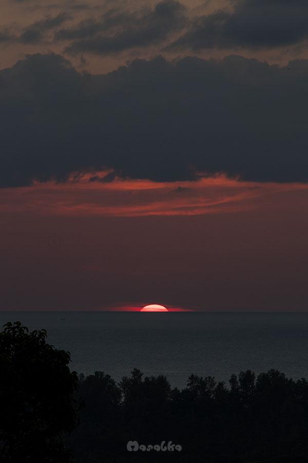 zachód słońca ko phayam