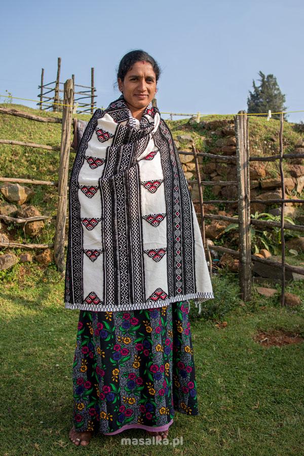 kobieta z plemienia toda